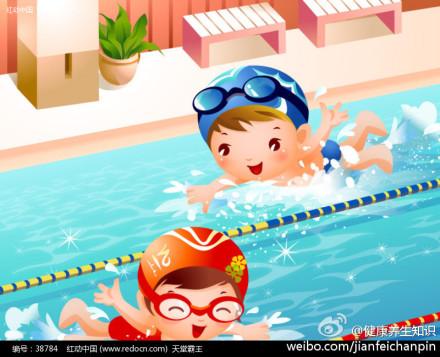 小孩学游泳提高学习能力