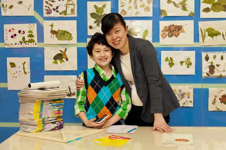 这个姑娘坚持了七年,为「读写困难」的儿童做出了标准化教材