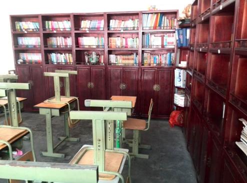 金台书院小学的班级图书馆
